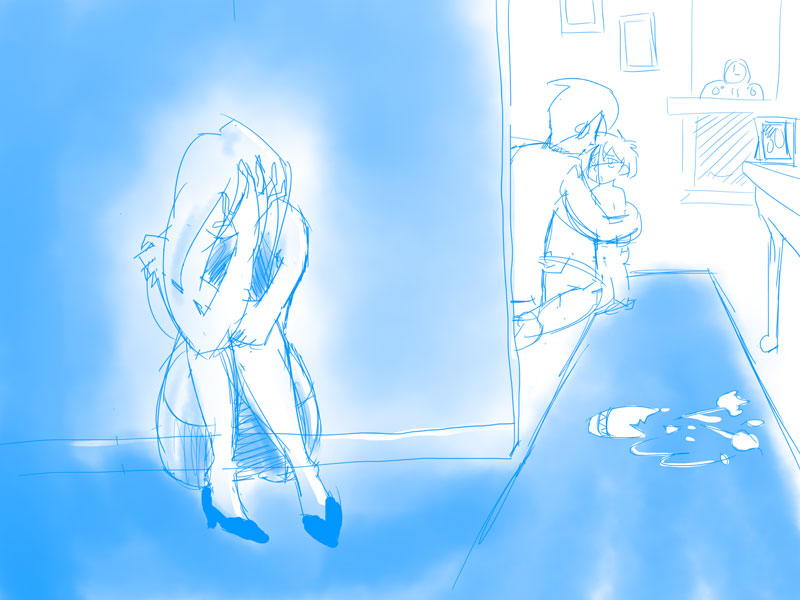 Why is Mommy crying? (Updated! Scene improved!) - image 6 - student project