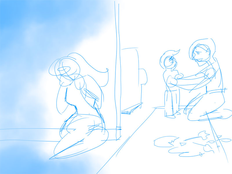 Why is Mommy crying? (Updated! Scene improved!) - image 2 - student project