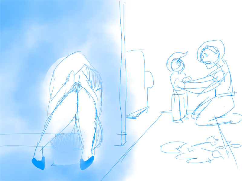 Why is Mommy crying? (Updated! Scene improved!) - image 5 - student project