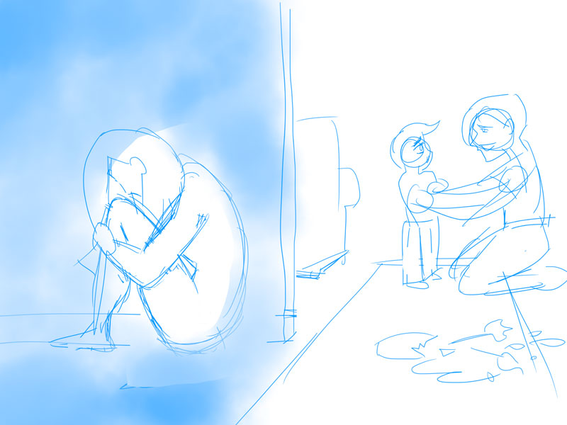 Why is Mommy crying? (Updated! Scene improved!) - image 4 - student project