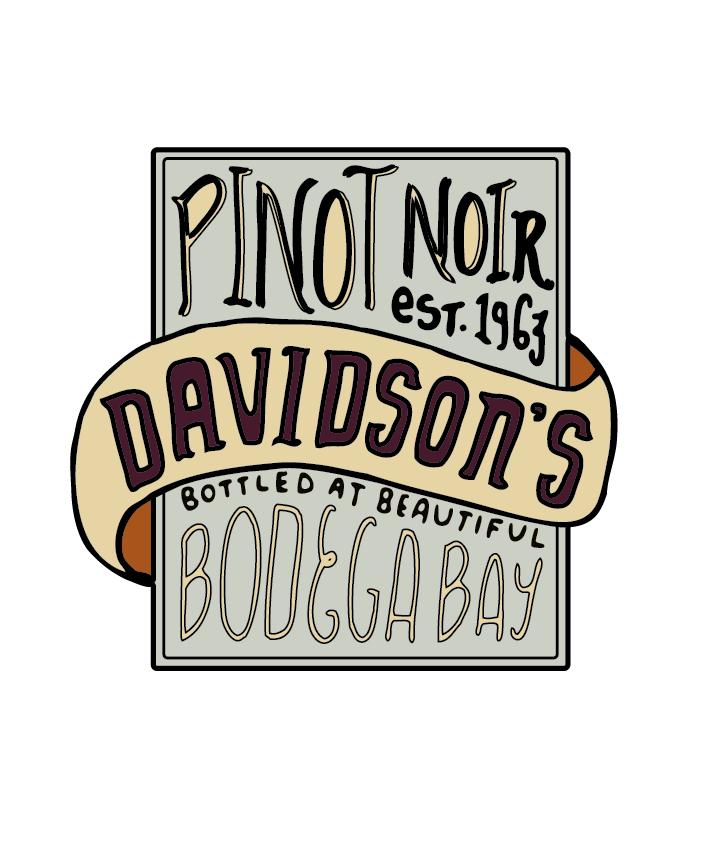 Bodega Bay - Pinot Noir Label - image 6 - student project