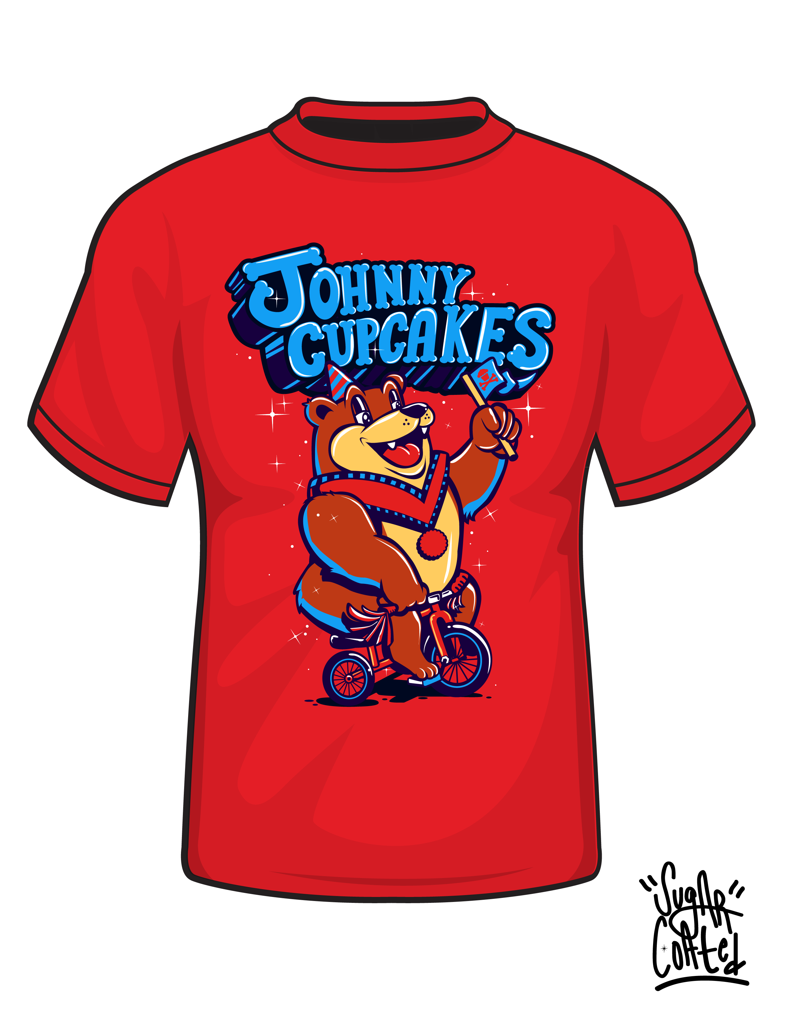 Sugar Coated x Johnny Cupcakes  - image 5 - student project