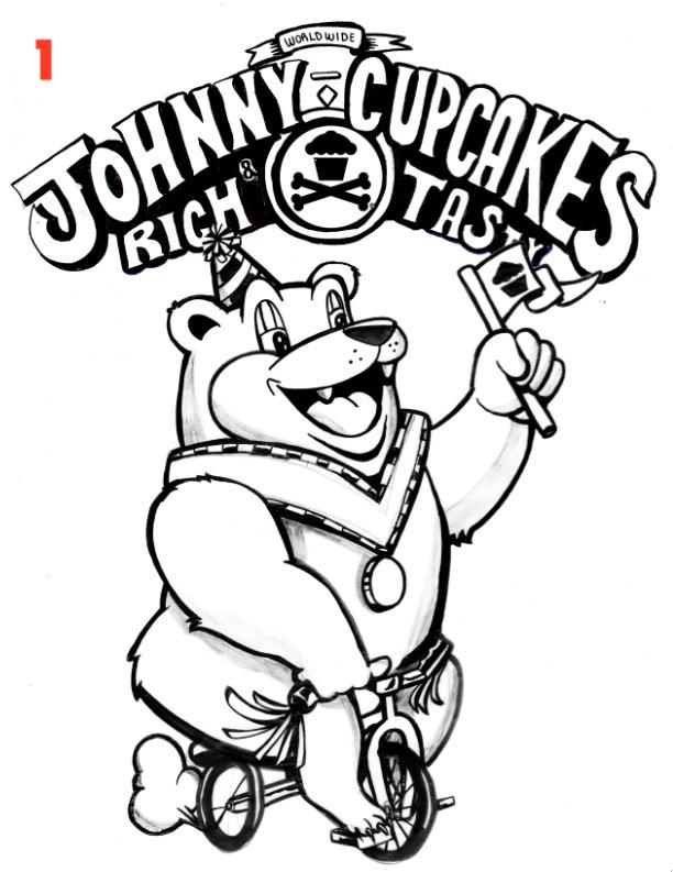 Sugar Coated x Johnny Cupcakes  - image 11 - student project