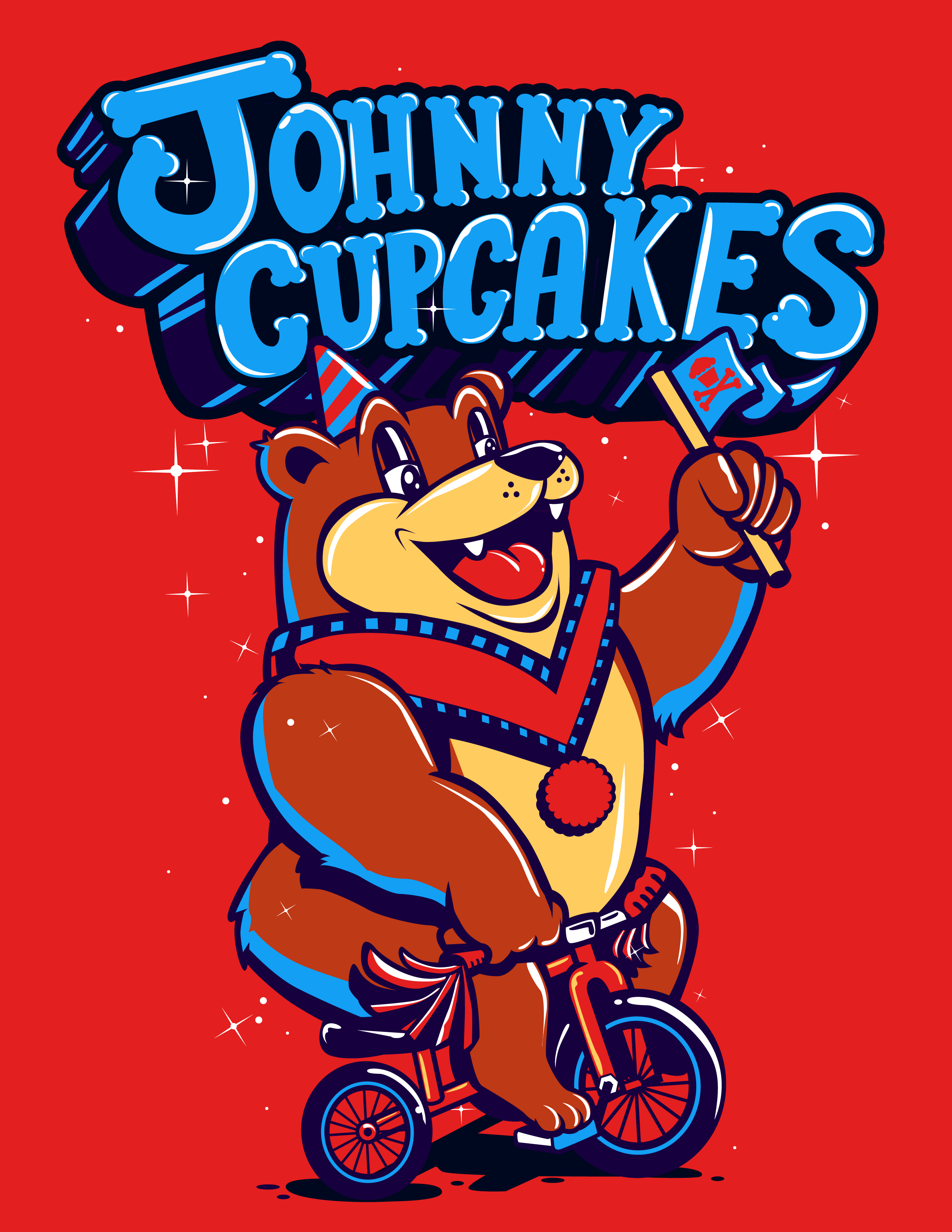 Sugar Coated x Johnny Cupcakes  - image 3 - student project