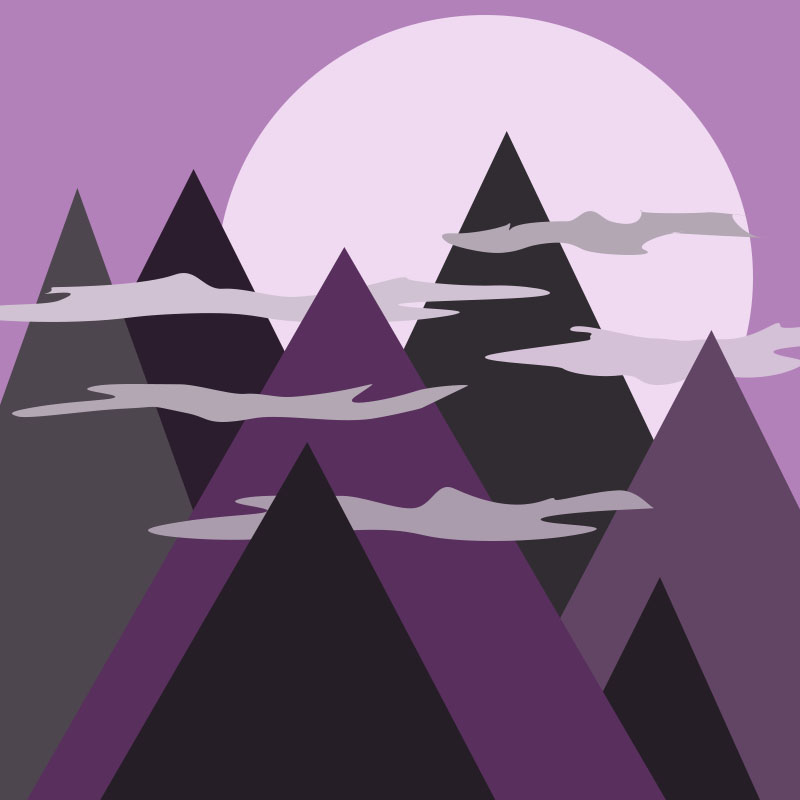 Mystical Mountains - image 1 - student project