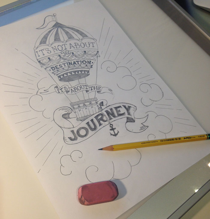 It's not about the destination it's about the journey - image 4 - student project