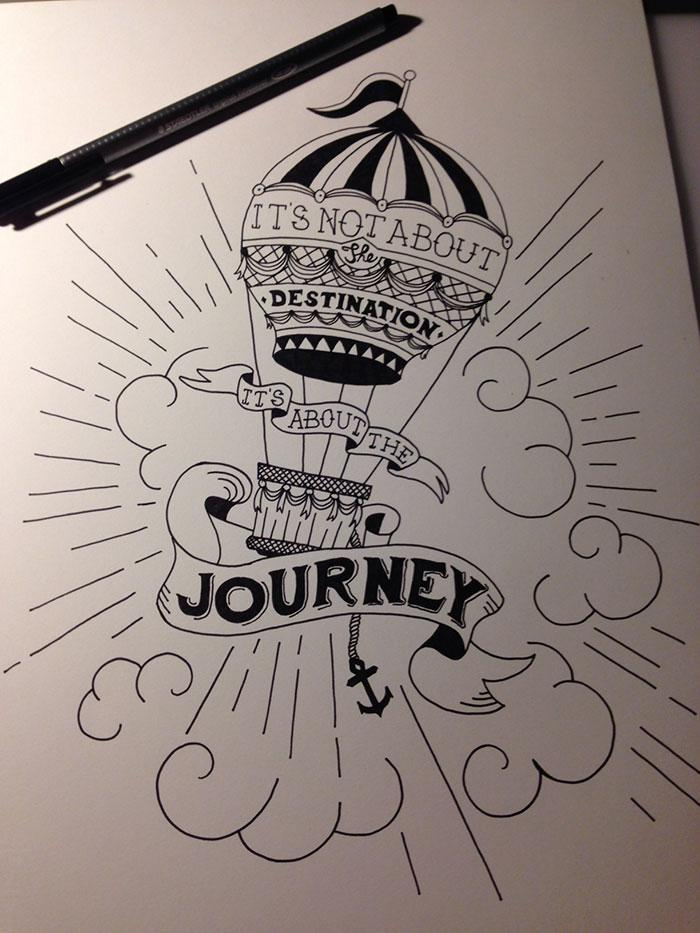 It's not about the destination it's about the journey - image 1 - student project