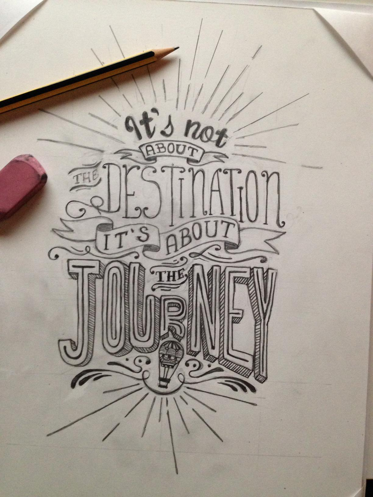 It's not about the destination it's about the journey - image 10 - student project