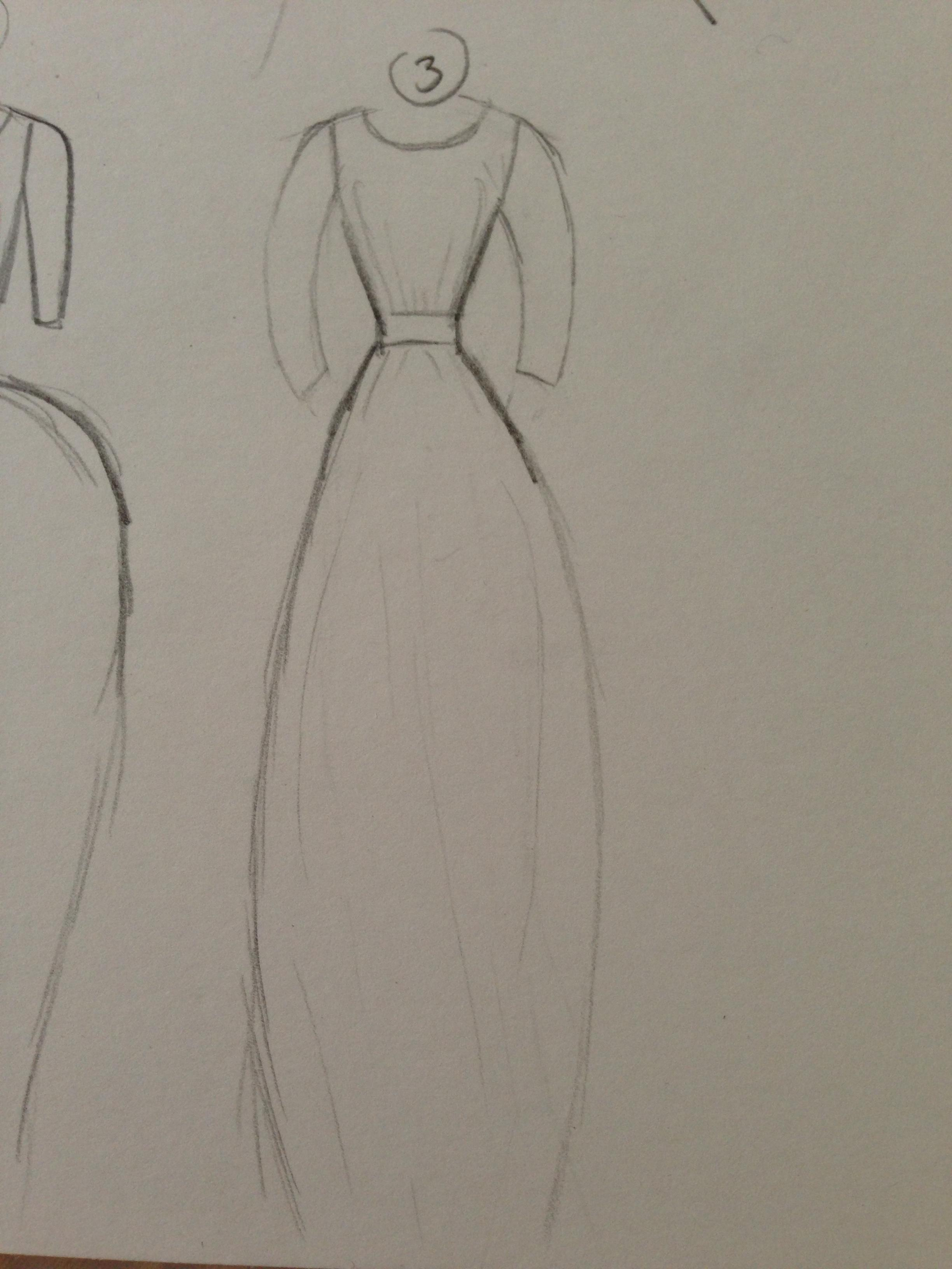 WATERCOLOR -- Dresses that Inspire - image 10 - student project