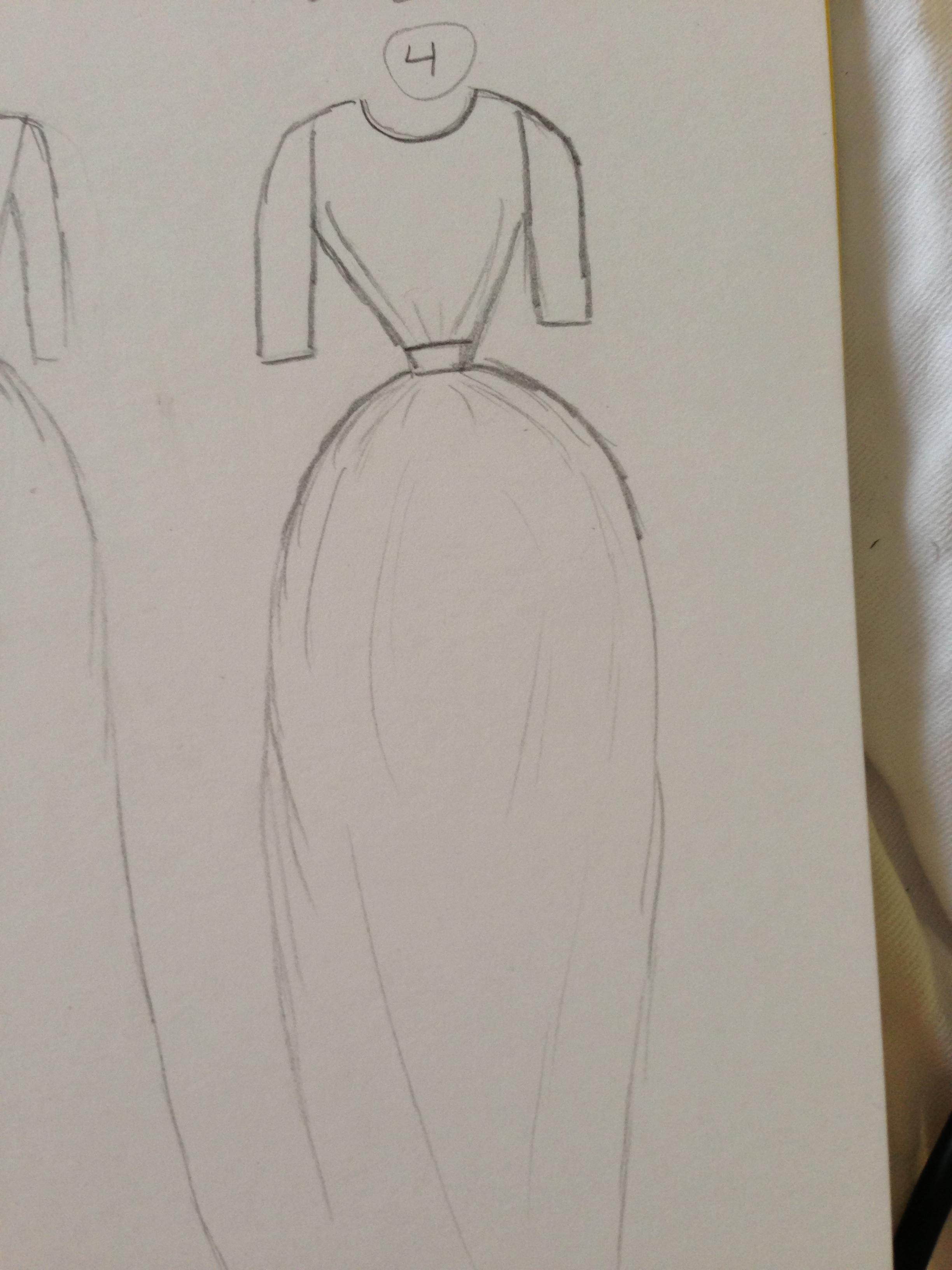 WATERCOLOR -- Dresses that Inspire - image 11 - student project