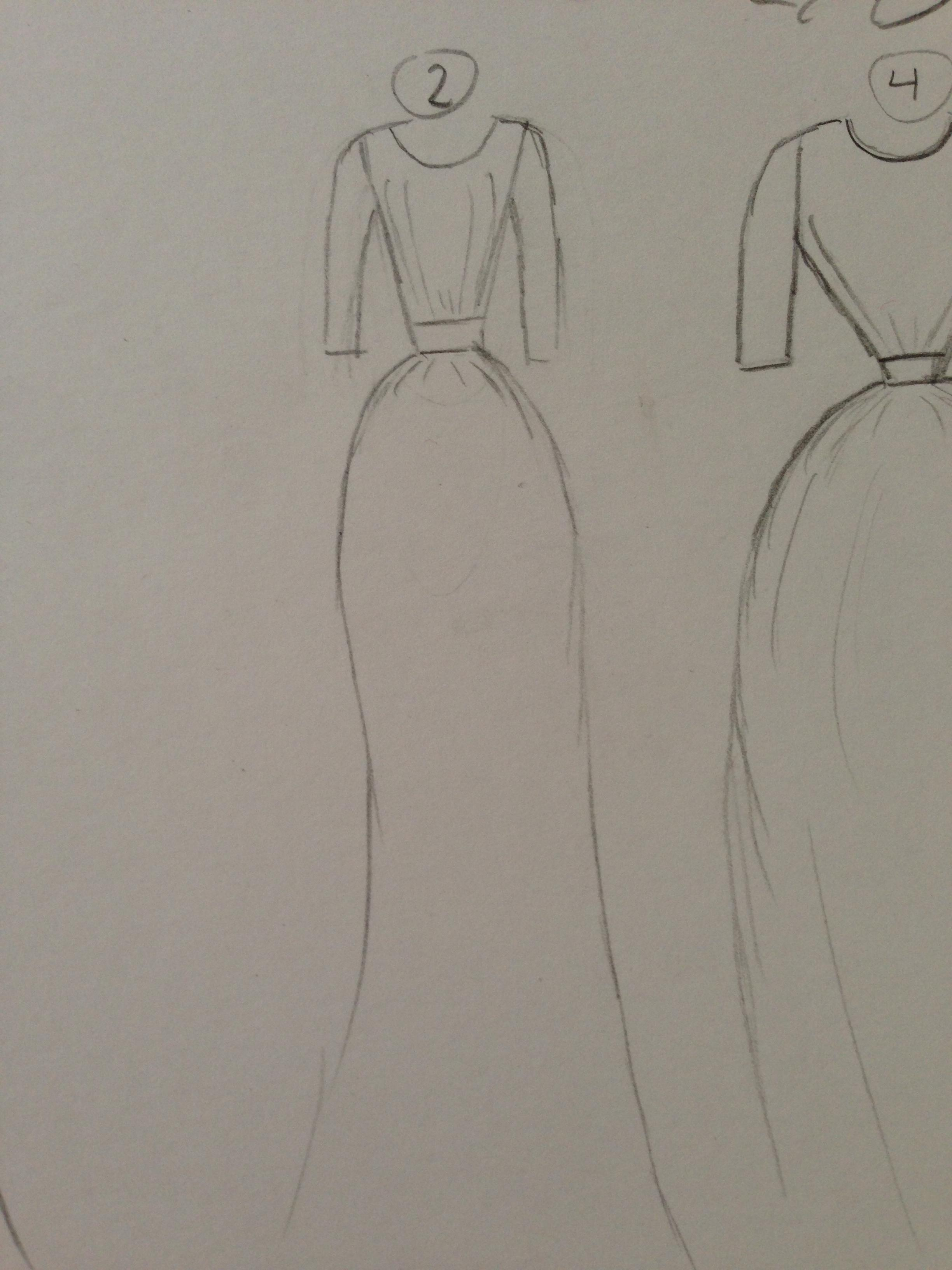 WATERCOLOR -- Dresses that Inspire - image 9 - student project