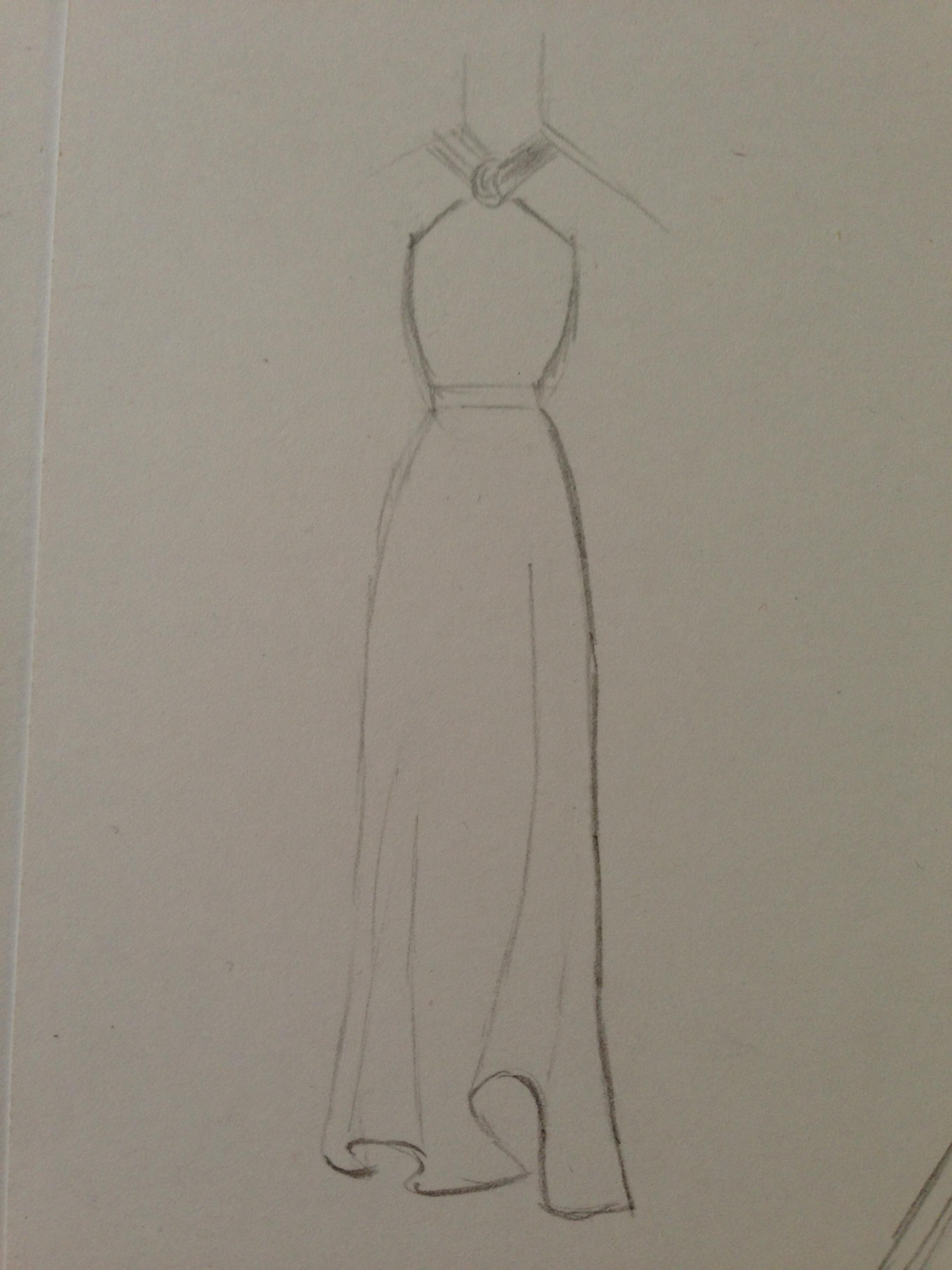 WATERCOLOR -- Dresses that Inspire - image 14 - student project