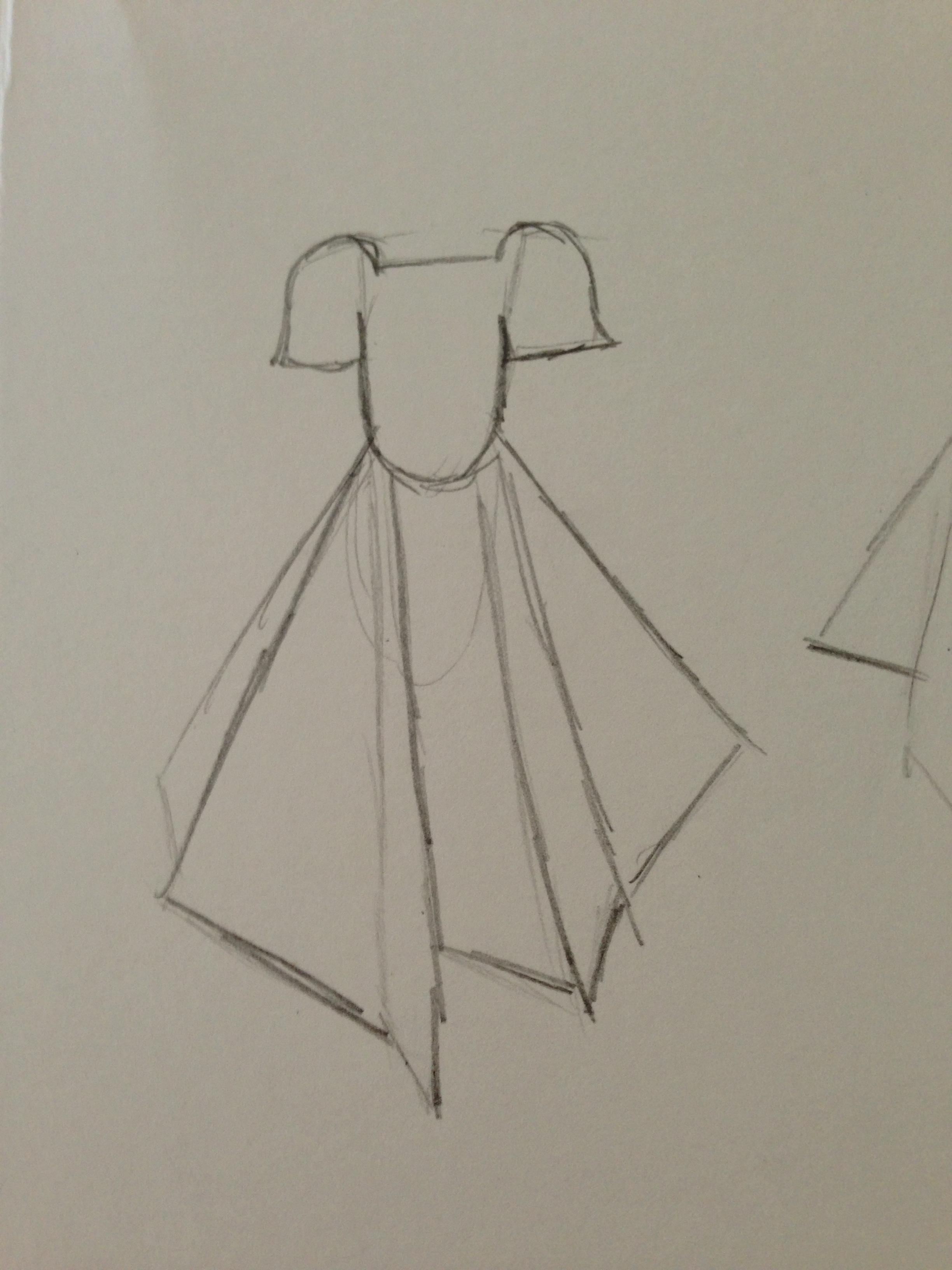 WATERCOLOR -- Dresses that Inspire - image 20 - student project