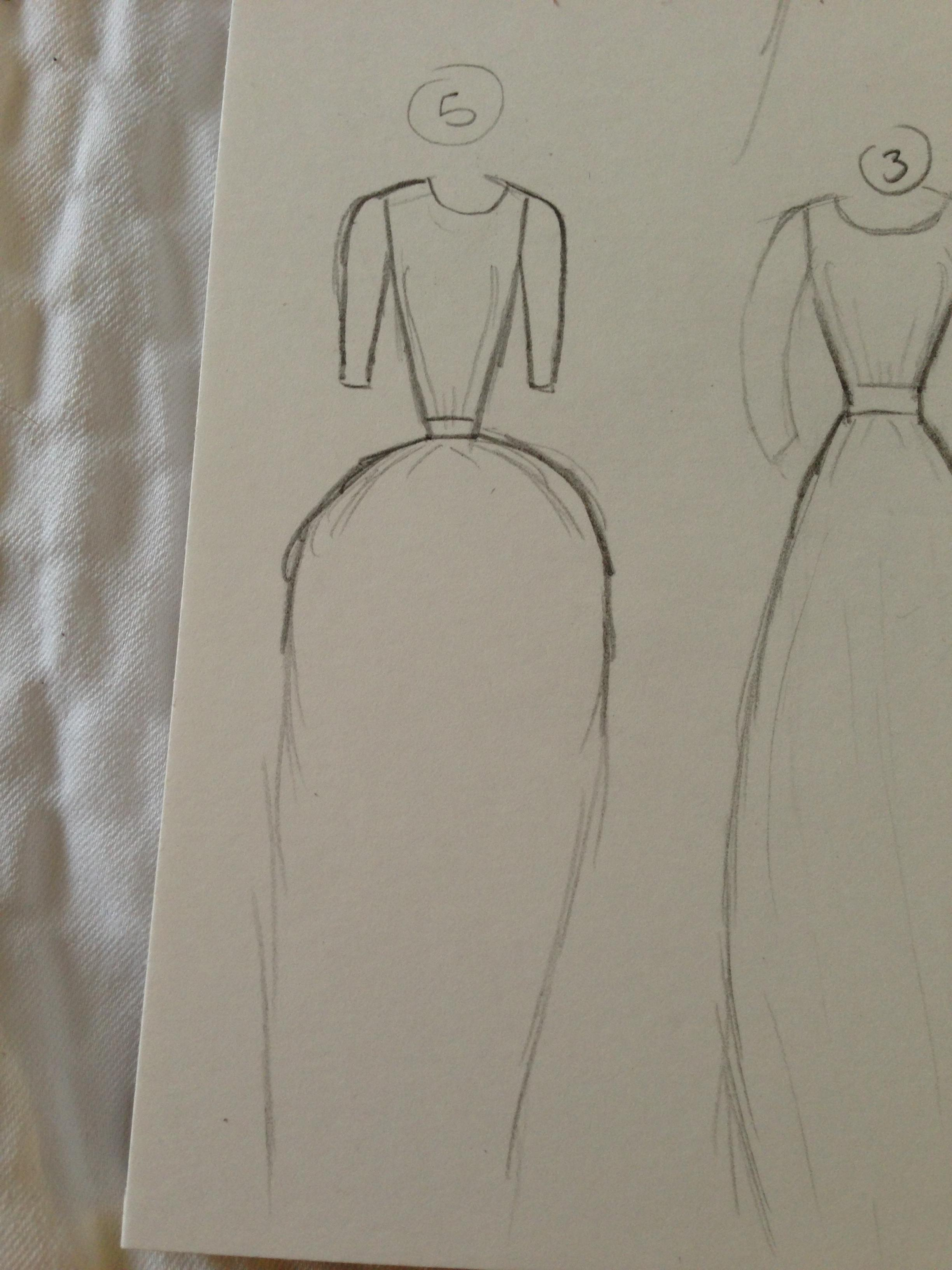 WATERCOLOR -- Dresses that Inspire - image 12 - student project