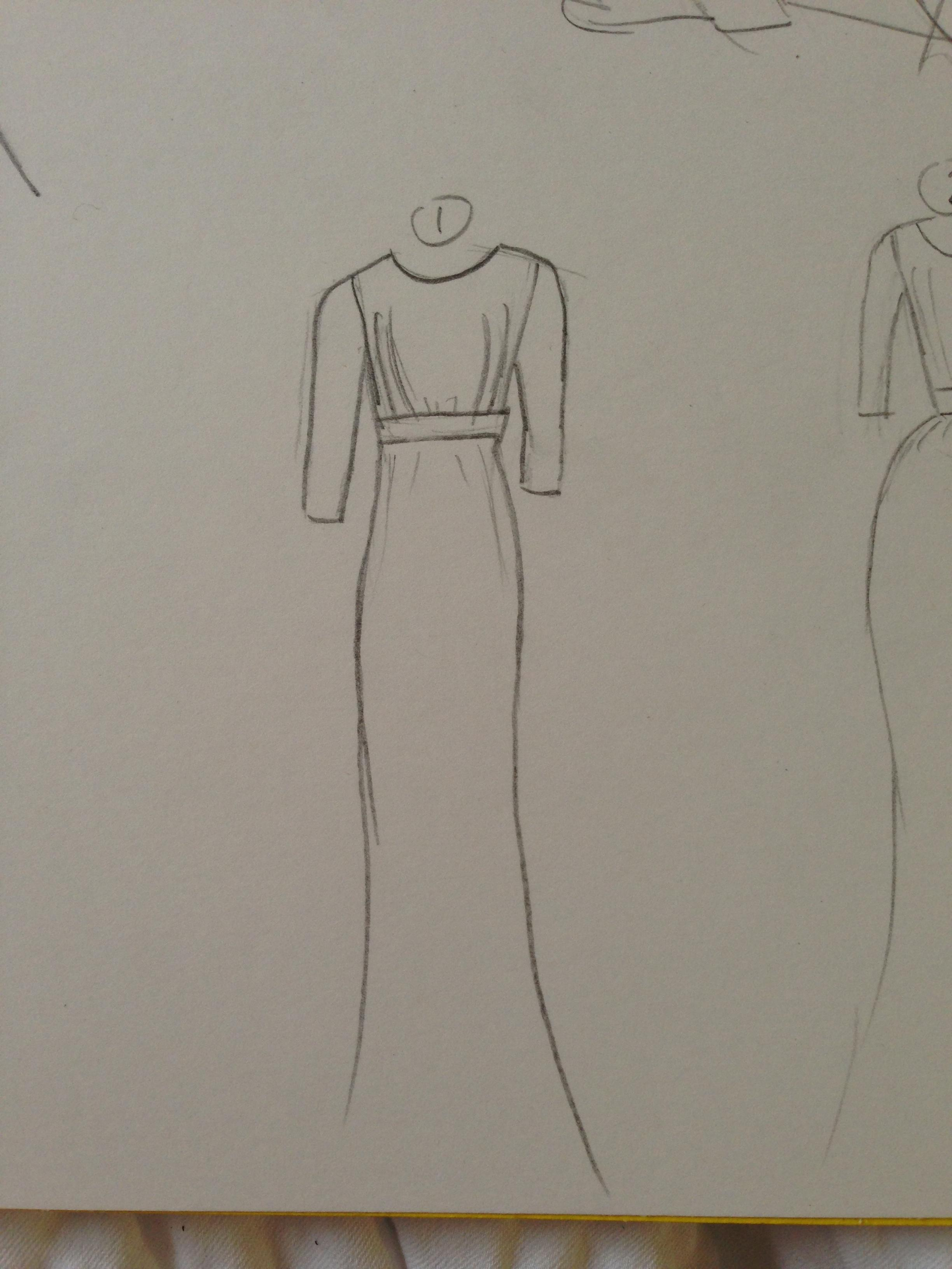 WATERCOLOR -- Dresses that Inspire - image 8 - student project