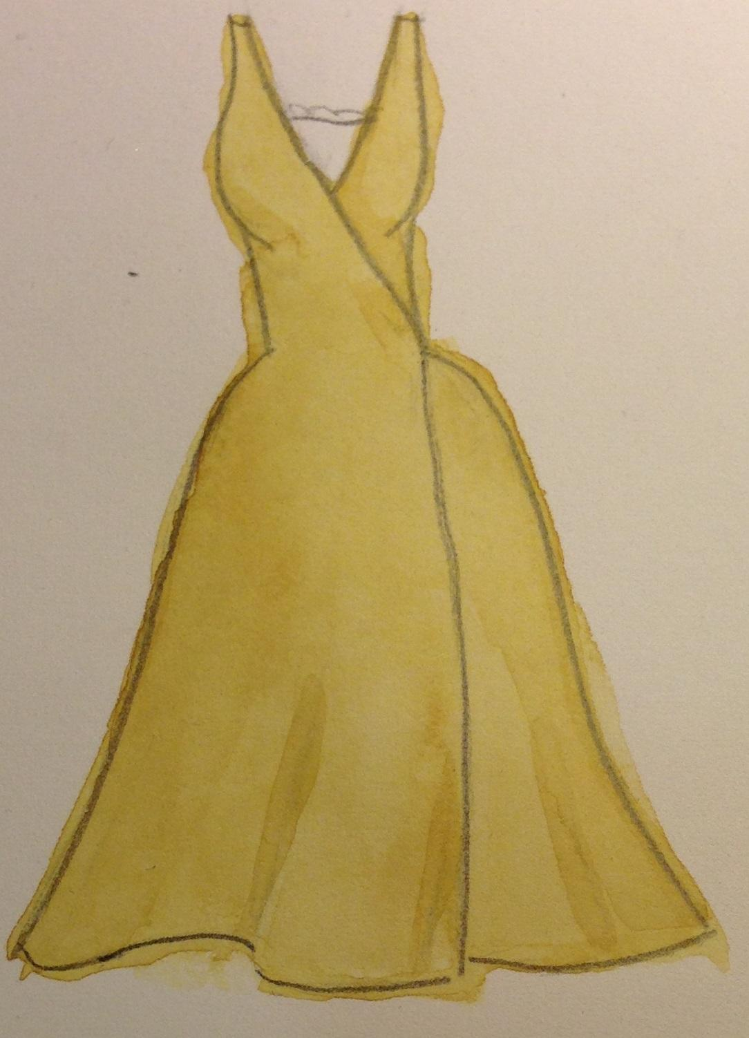 WATERCOLOR -- Dresses that Inspire - image 1 - student project