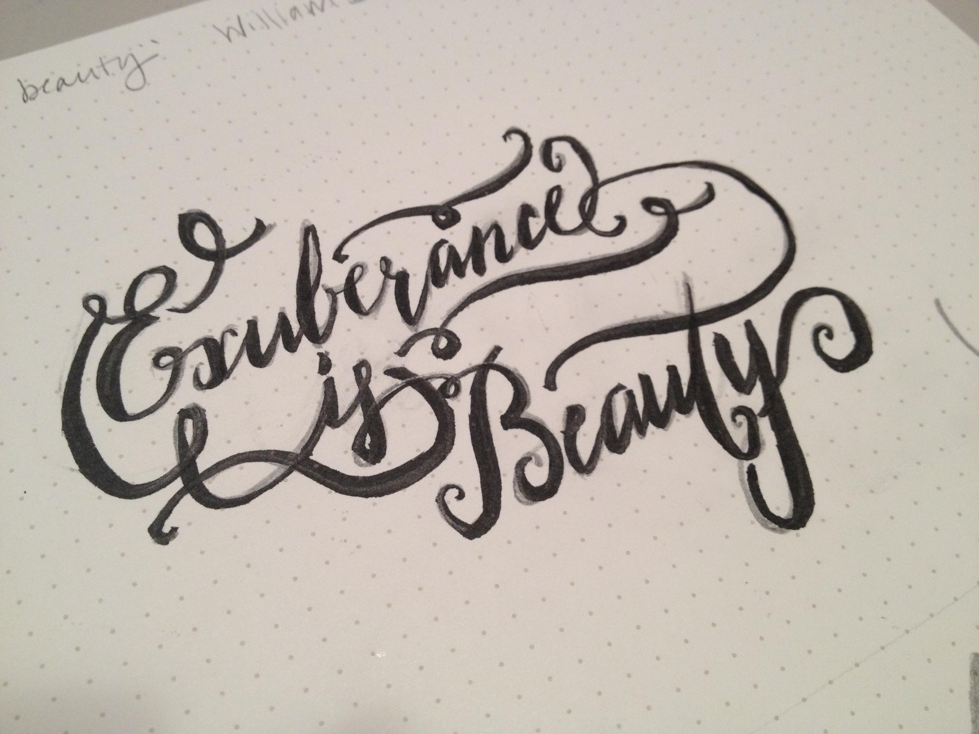 Exuberence is Beauty - image 1 - student project