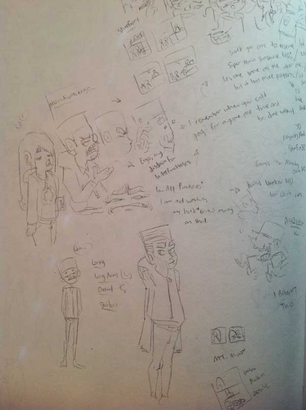 [Brian Shepard] Self Comicification - image 1 - student project