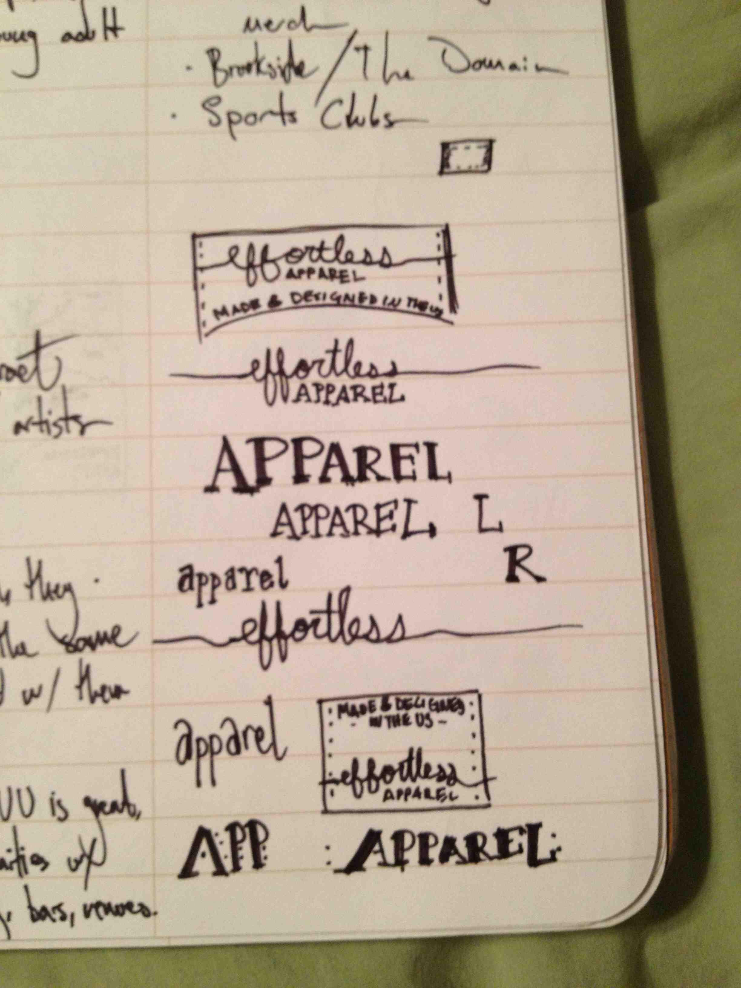 effortless apparel Clothing Tag - image 2 - student project