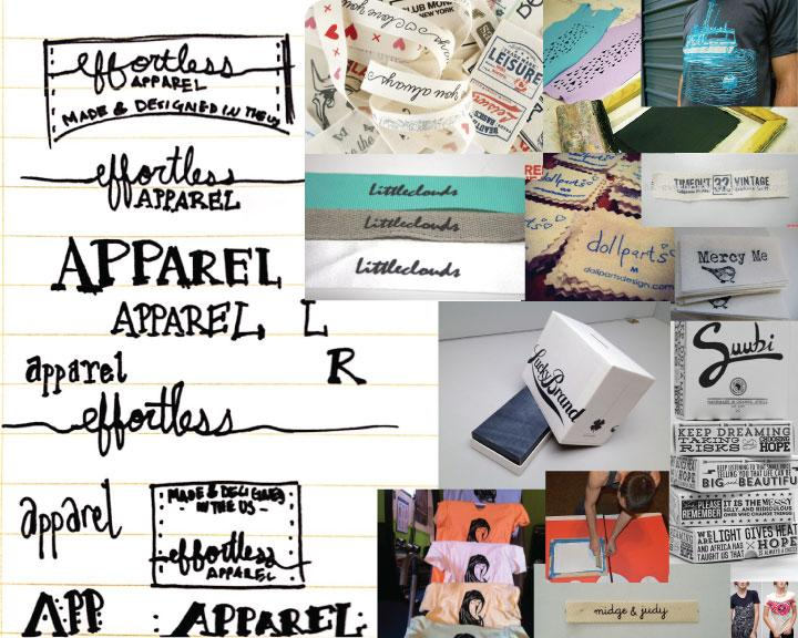 effortless apparel Clothing Tag - image 1 - student project