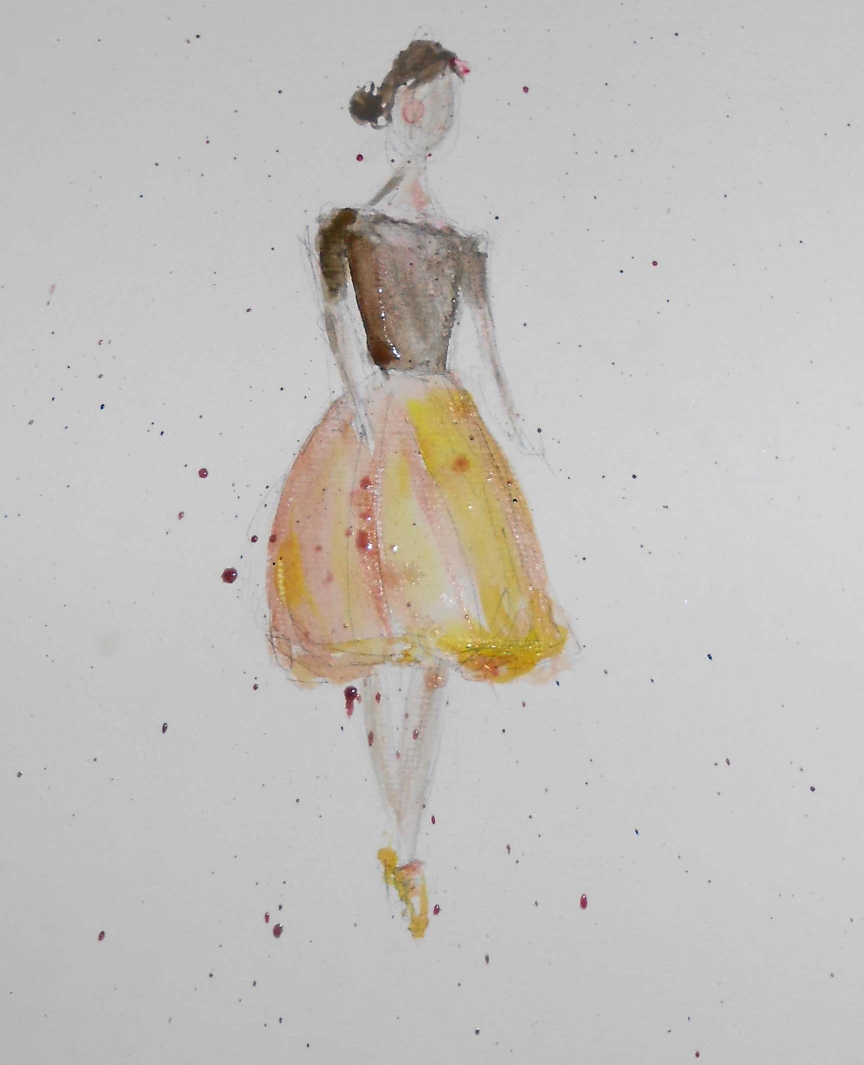 Watercolour - Silhouette & Sparkle! - image 2 - student project