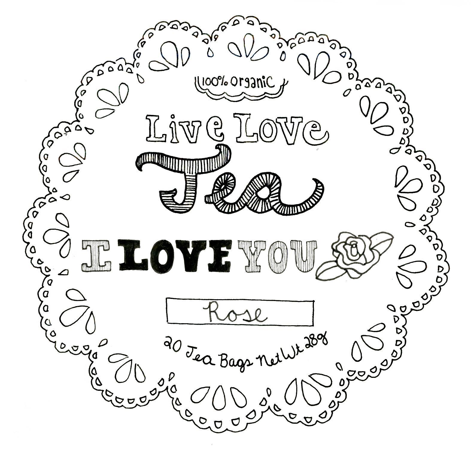 Live.Love.Tea. - image 16 - student project