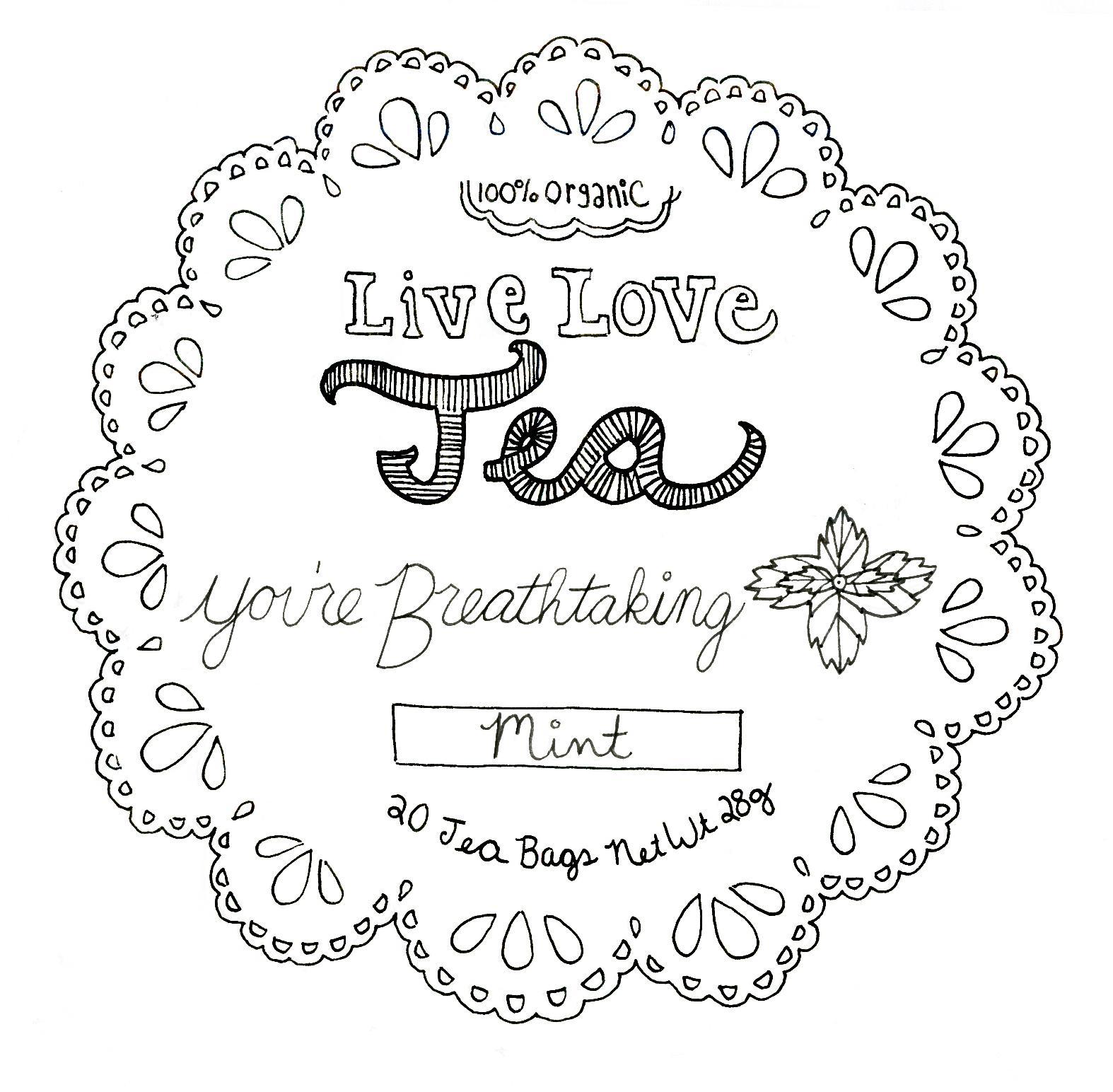 Live.Love.Tea. - image 20 - student project