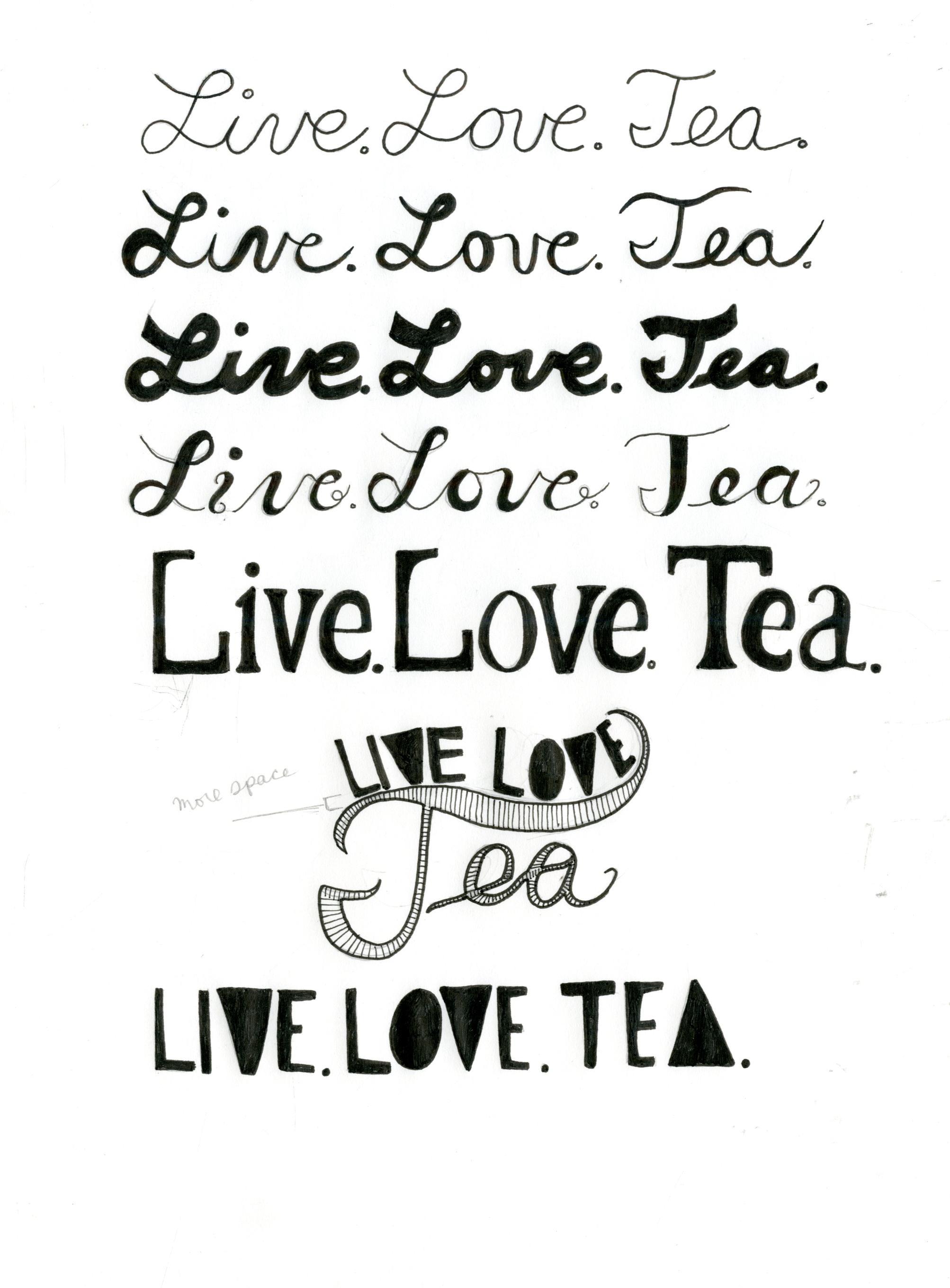Live.Love.Tea. - image 5 - student project