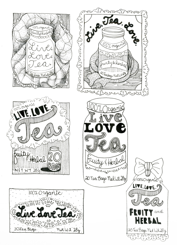 Live.Love.Tea. - image 12 - student project
