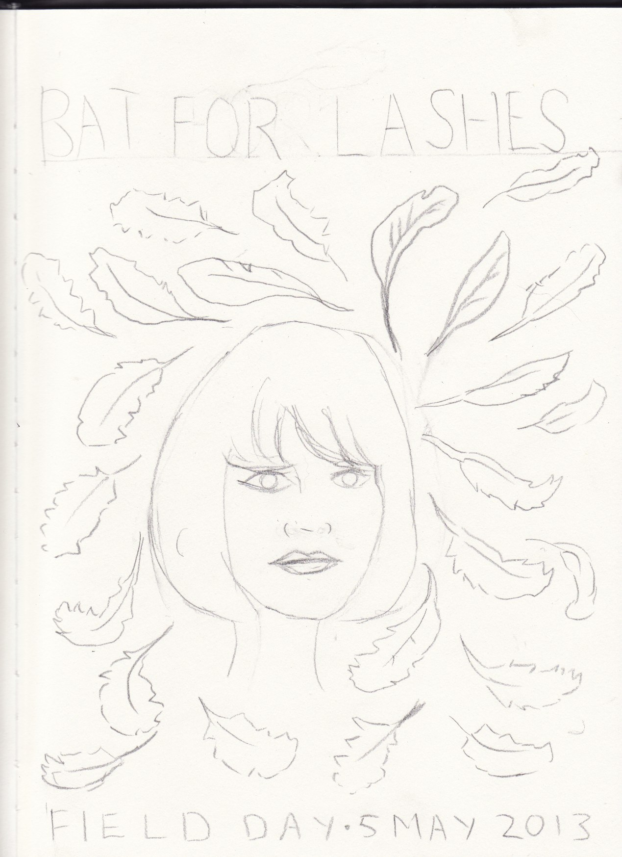 Bat for Lashes - Field day 2013 - image 6 - student project