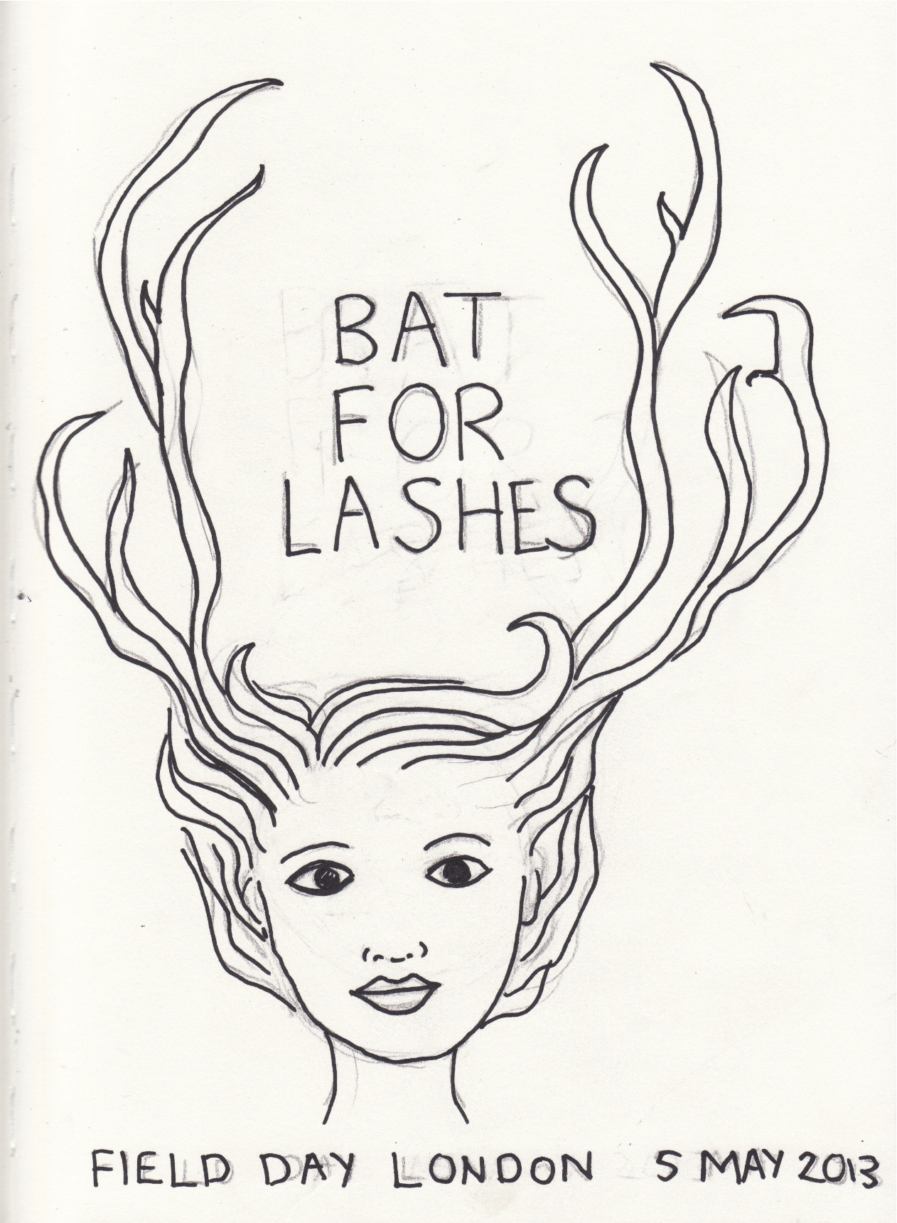 Bat for Lashes - Field day 2013 - image 4 - student project