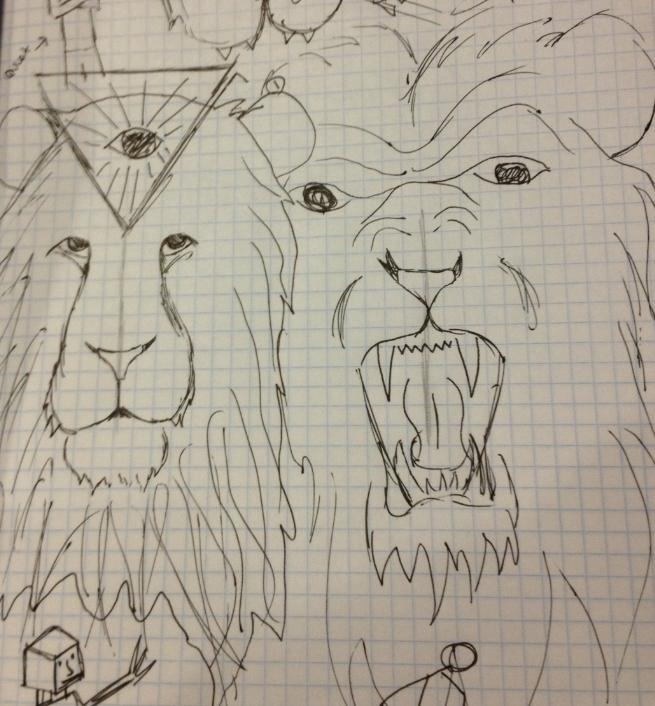 Quiet Lion, Loud Lion - image 1 - student project