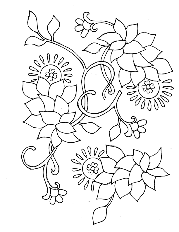 marrakech floral - image 1 - student project