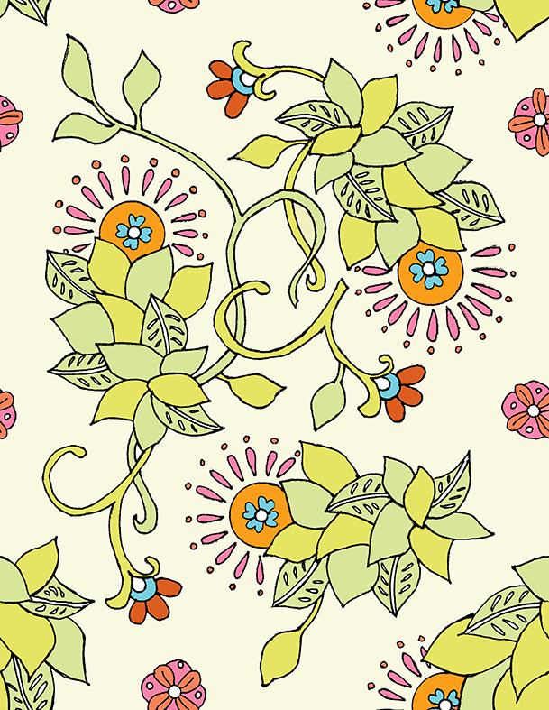 marrakech floral - image 4 - student project