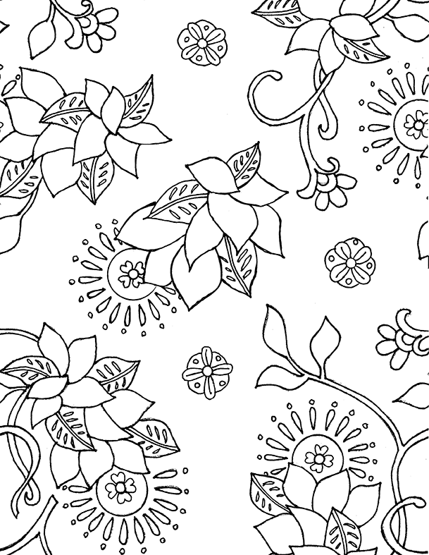 marrakech floral - image 2 - student project