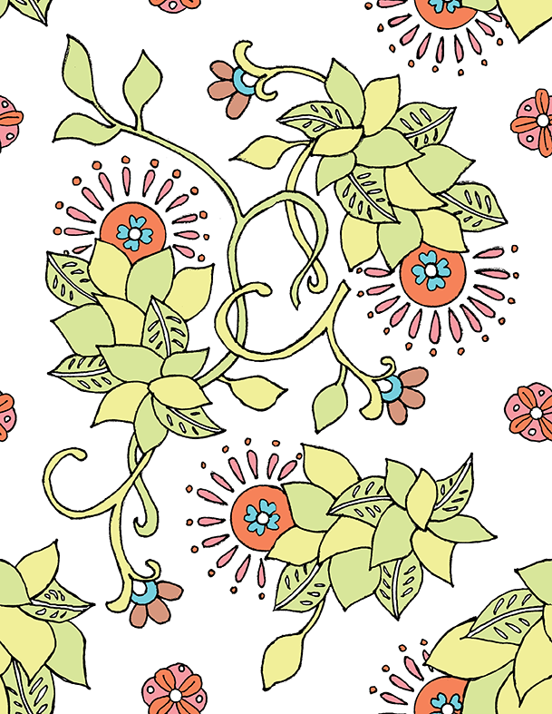 marrakech floral - image 3 - student project
