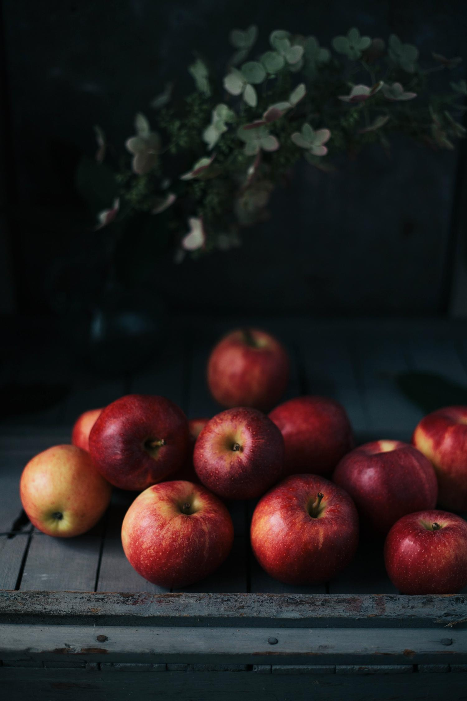 Apples and tomatillos - image 1 - student project