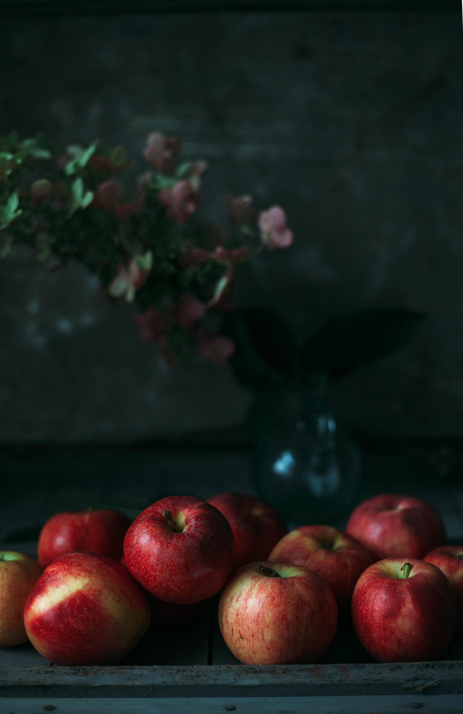 Apples and tomatillos - image 2 - student project