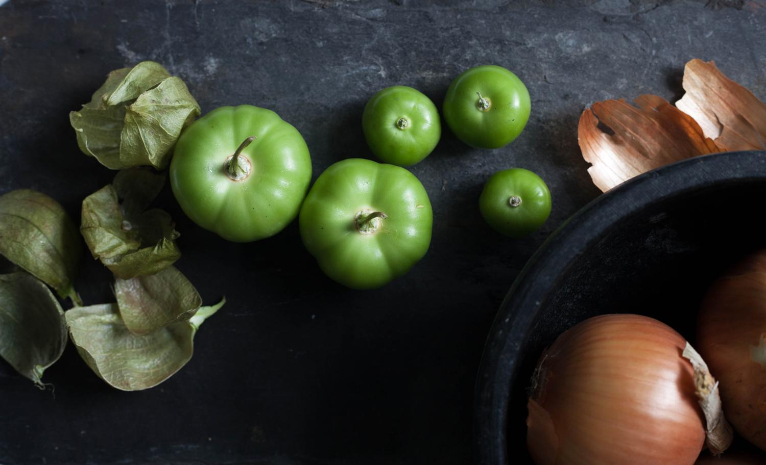 Apples and tomatillos - image 7 - student project