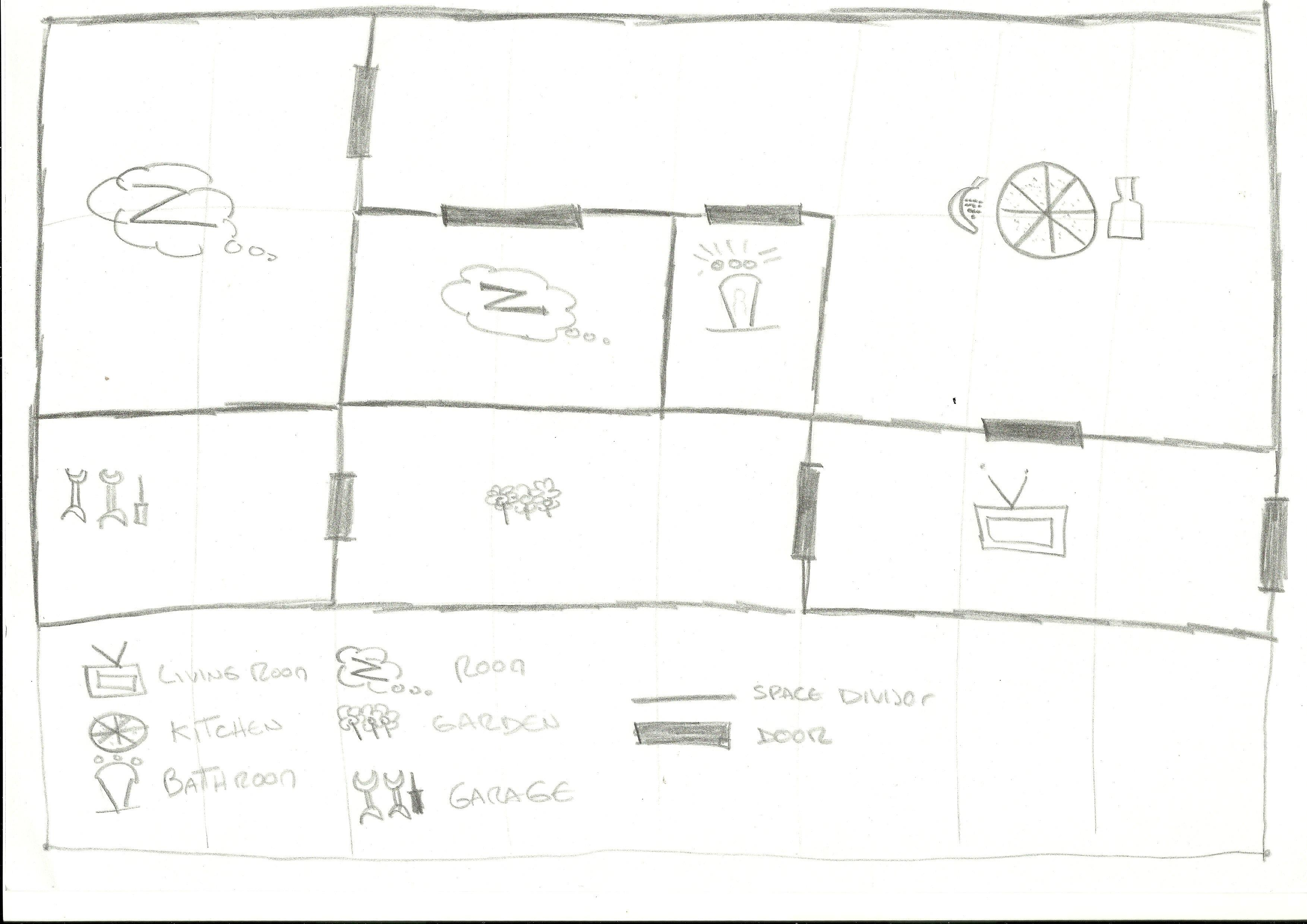 My first hand-drawn map - image 1 - student project