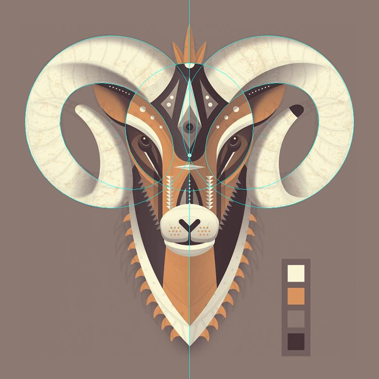 Bighorn Sheep - image 3 - student project