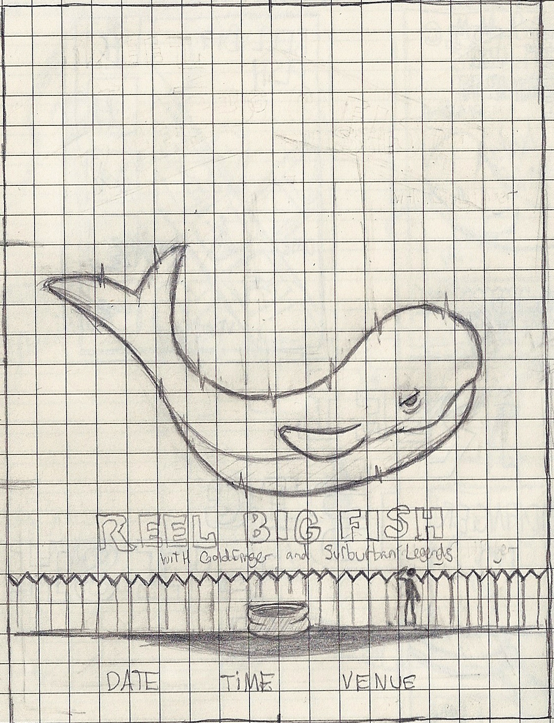 Reel Big Fish (Gig Poster) - image 16 - student project