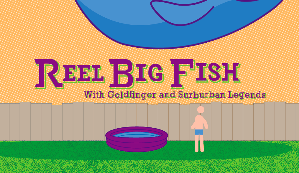 Reel Big Fish (Gig Poster) - image 6 - student project