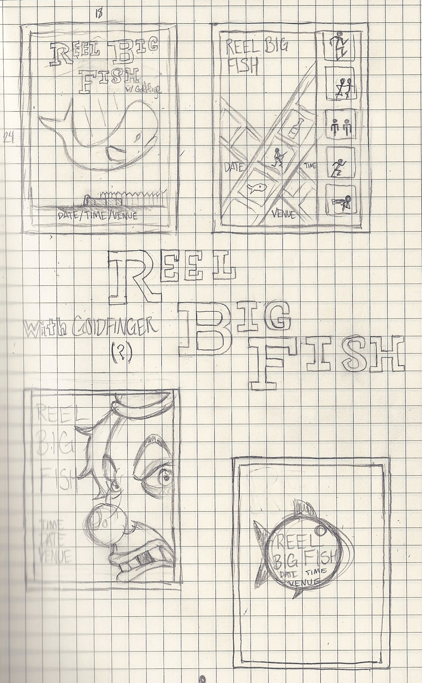 Reel Big Fish (Gig Poster) - image 19 - student project