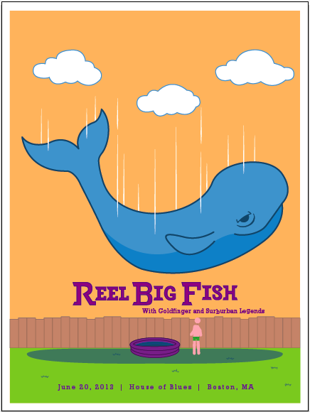Reel Big Fish (Gig Poster) - image 10 - student project