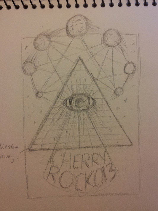 CherryRock013 Poster - image 5 - student project