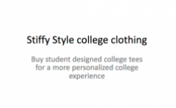 Drew Arensberg - Stiffy Style college clothing