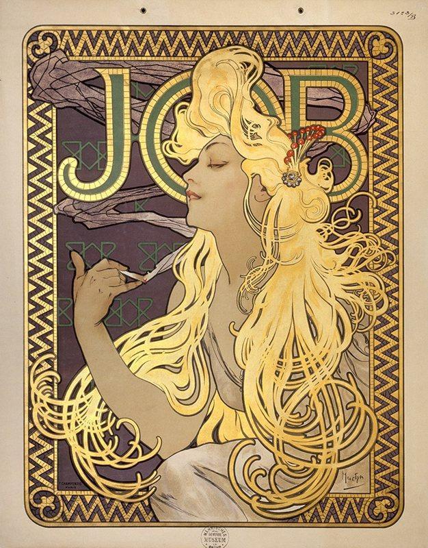 Muse: Vintage Art Nouveau Style - image 2 - student project