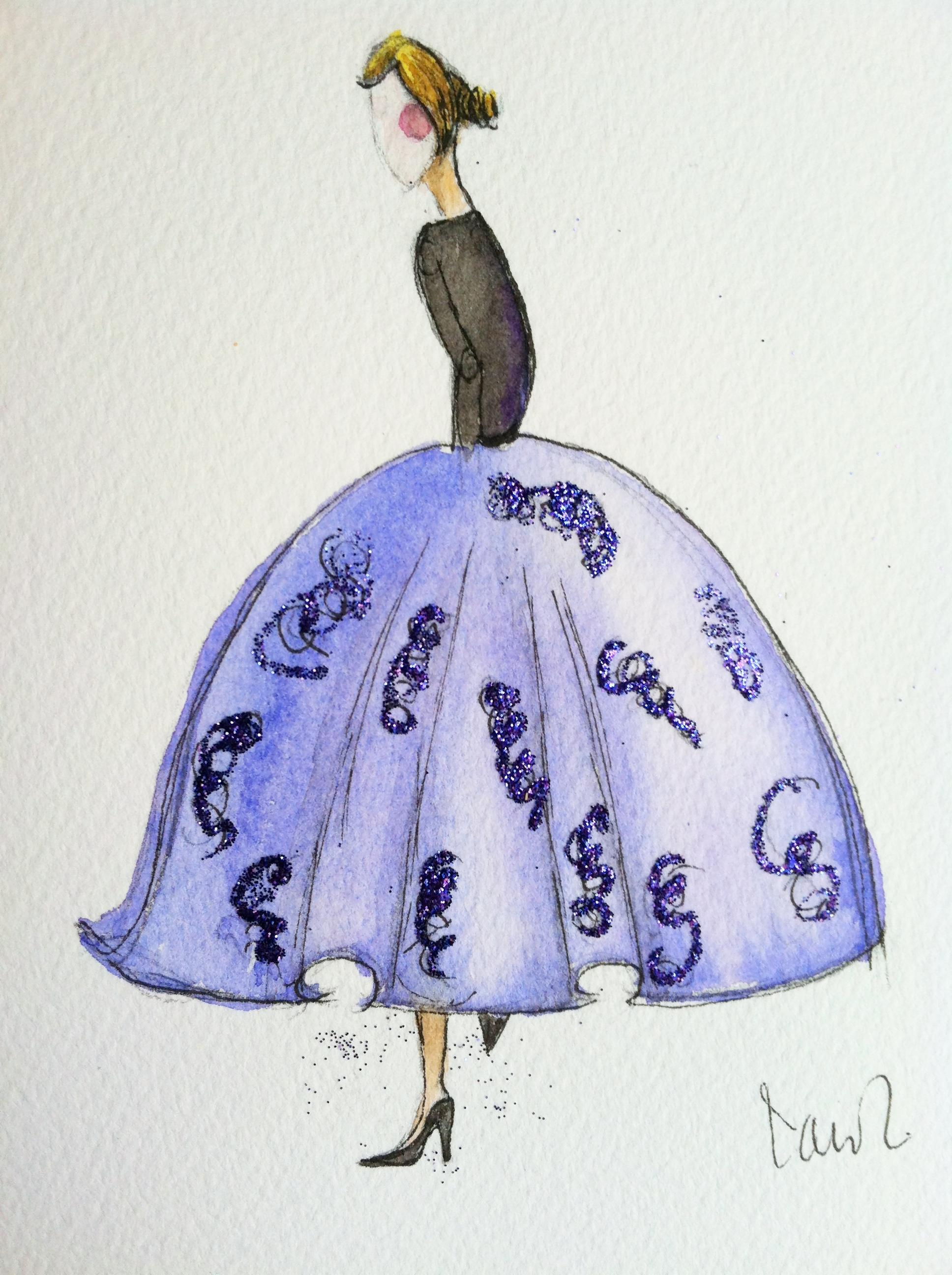 WATERCOLOR-Isn't she lovely - image 1 - student project