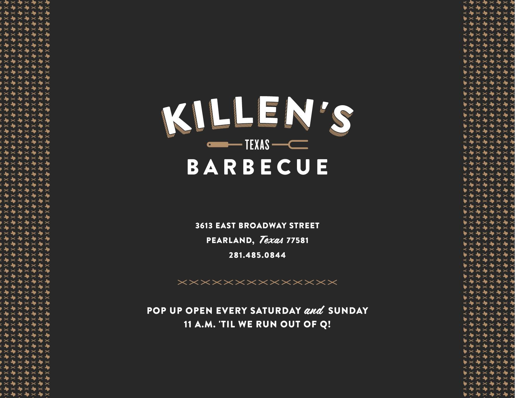Killen's Barbecue - image 16 - student project